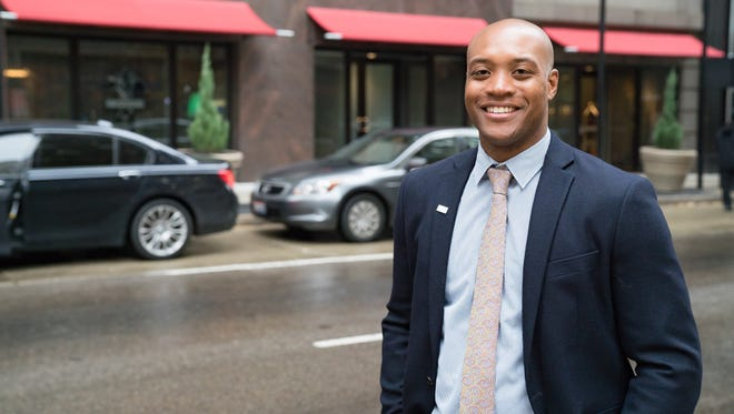 Marcus Thompson, leader of Harnessing Young Professional Energy programs for the Cincinnati USA Regional Chamber