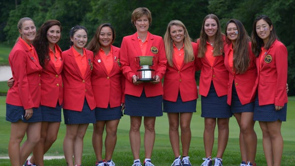 Team USA posted the largest win in Curtis Cup history,