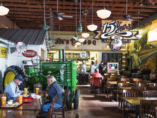 Opened in 1998, Joe's Real BBQ harkens back to the