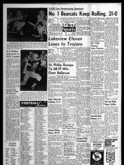 Battle Creek Sports History: Week of Oct. 20, 1966