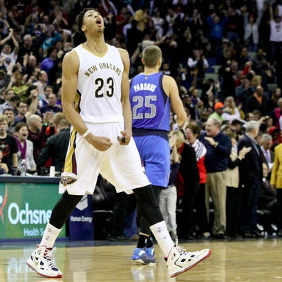 Jan 25, 2015; New Orleans, LA, USA; New Orleans Pelicans