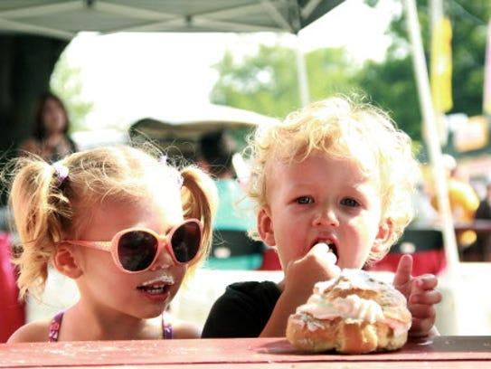 Original Cream Puffs are a Delicious State Fair Staple