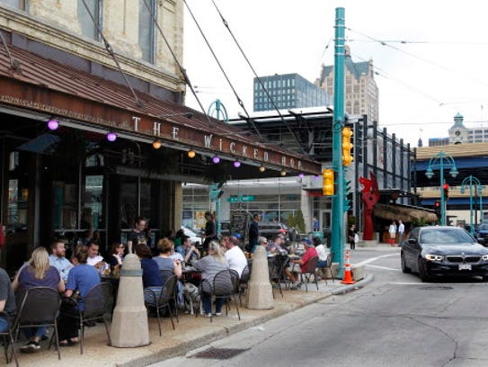 Restaurants and shops in the Third Ward are a great