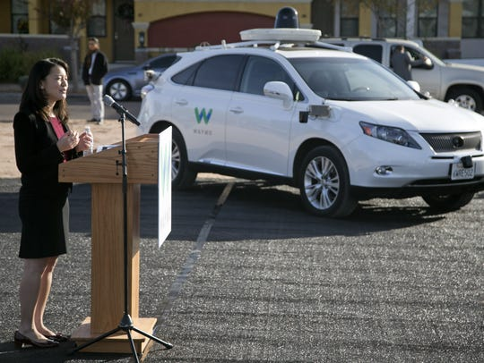 Jennifer Haroon, director of operations for Waymo,