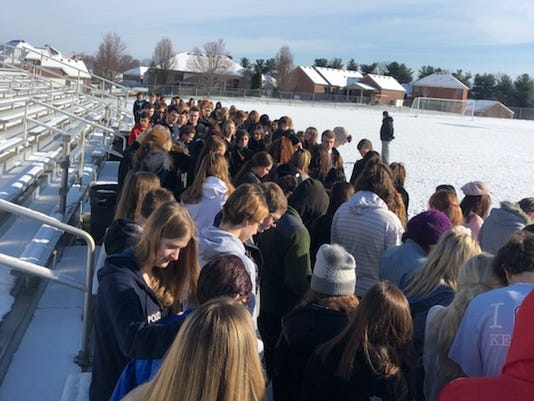 North Oldham High School Walkout