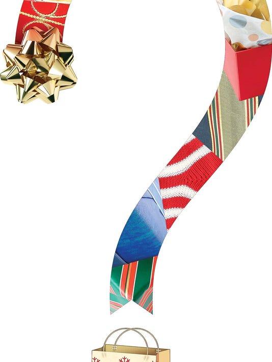 Gift-giving illustration