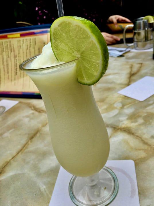 Key Lime pina colada