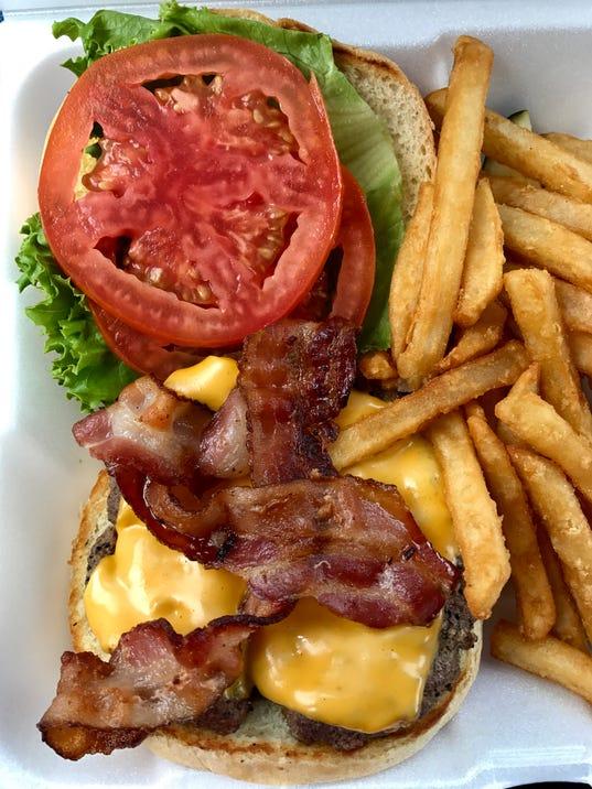 Haney's Cafe burger