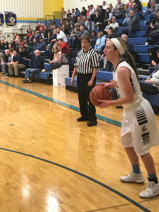 River Valley Erica Hyre girls basketball