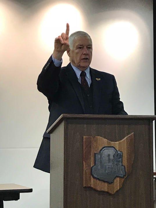 OHSAA Commissioner Dan Ross
