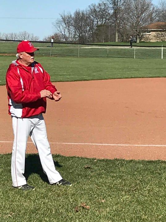 Ridgedale baseball Lanny Martin