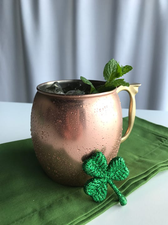 St patrick 39 s day cocktail at mitchell 39 s fish market for Mitchell s fish market edgewater
