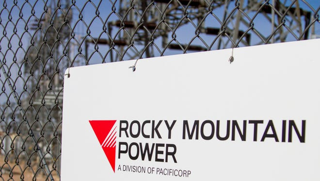 A Rocky Mountain Power substation in Cedar City, Tuesday, Oct. 27, 2015.