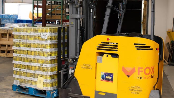 Austin-based Fox Robotics makes self-driving forklifts and is looking to launch its first product.
