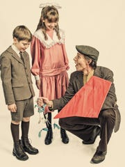 """Tim Barden took some posed shots of some of the leading players in costume for the upcoming Lyric Theatre Company's production of """"Mary Poppins"""" and gave them a Norman Rockwell treatment."""
