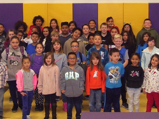 Fifty-six Desert Star Elementary students were placed