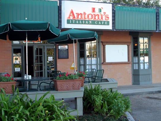 Antoni's Italian Cafe is offering free cream cheese