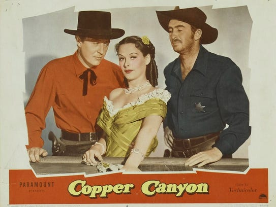 Copper Canyon, 1950