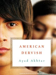 """The cover of """"American Dervish,"""" the book selected to be explored for the next three weeks by the Door County Reads program."""