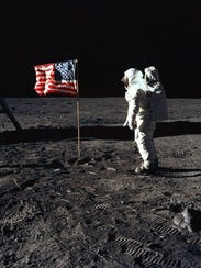 "Astronaut Edwin "" Buzz"" Aldrin, lunar module pilot"