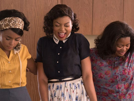 "Janelle Monáe, Taraji P. Henson and Octavia Spencer star in ""Hidden Figures."""