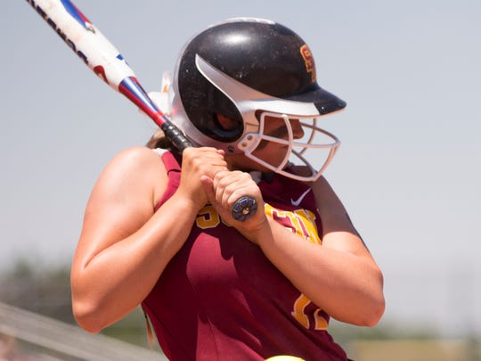 Trinity Eckerty is a member of the 2018 IndyStar Softball Super Team