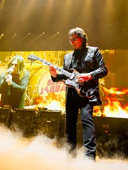 Ozzy Osbourne and Tony Iommi perform on Black Sabbath's The End Tour