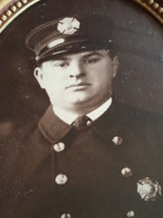 Nutley Fire Capt. Frank C. Zimmerman died in the line of duty on Sept. 13, 1939.