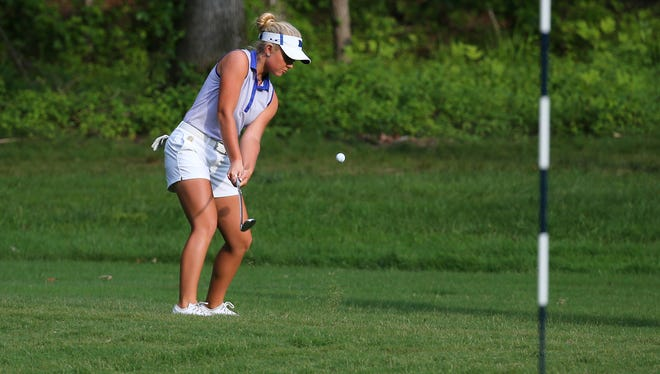 FILE -- Erica Shepherd of Greenwood plays at the U.S. Women's Open Championship golf tournament at Shoal Creek in Alabama.