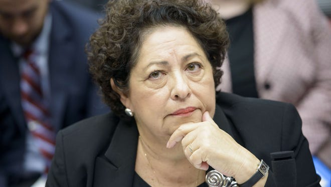 Katherine Archuleta, former director of the Office of Personnel Management, resigned July 10, 2015 after a devastating hack of government databases. She had come under criticism after revelations that the hack, which many suspect originated in China, affected a staggering 21.5 million people, far more than initially believed.