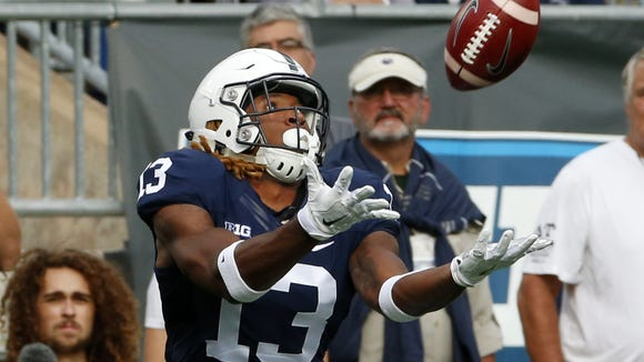 Saeed Blacknall may truly hold one of the keys to Joe Moorhead's new offense. Can he finally become the consistent No. 3 receiver Penn State needs?