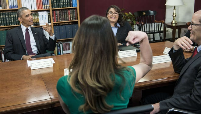 President Obama discusses women and the economy.