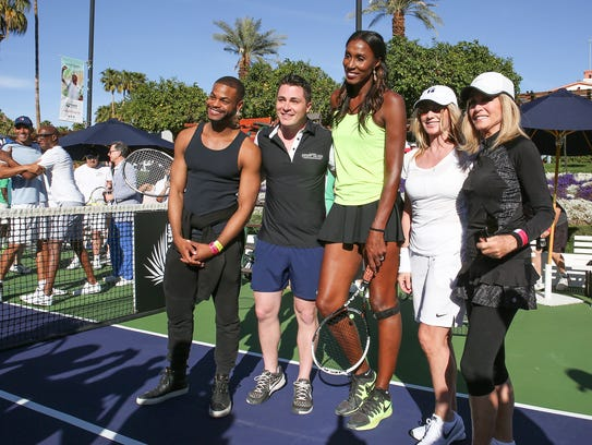 The Desert Smash charity tennis tournament in La Quinta,