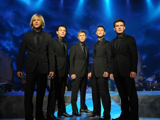 Celtic Thunder performs Nov. 29 at the Des Moines Civic Center.