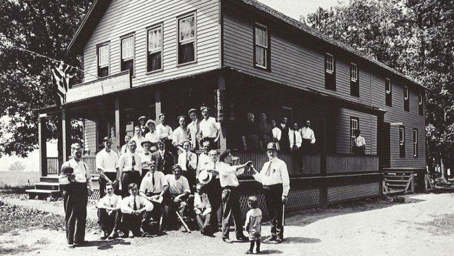The Grove House before the Prohibition era began.