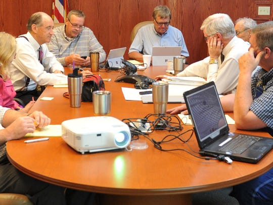 Wichita County Commissioners met Wednesday morning