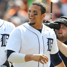 Victor Martinez has helped lead the Tigers with a career year.