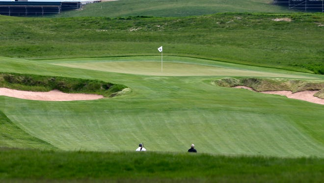 Hole No. 11 at Erin Hills, site of the 2017 U.S. Open June 15-18.