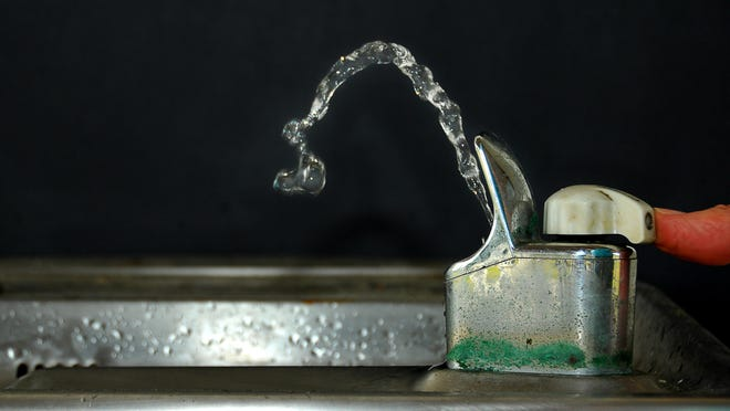 Water tested at an Ayer Elementary School fountain showed five times the acceptable of lead.