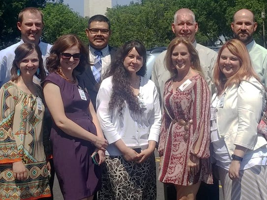 Members of the New Mexico Agricultural Leadership program's