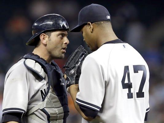 Yankees Nova Cervelli