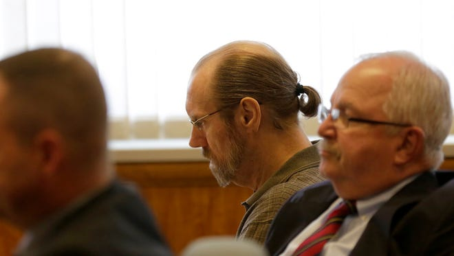 Defendant Ronald Horan during the trial of Ronald Horan at the Wood County Circuit Court, September 14, 2016.