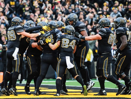 NCAA Football: Ohio State at Iowa