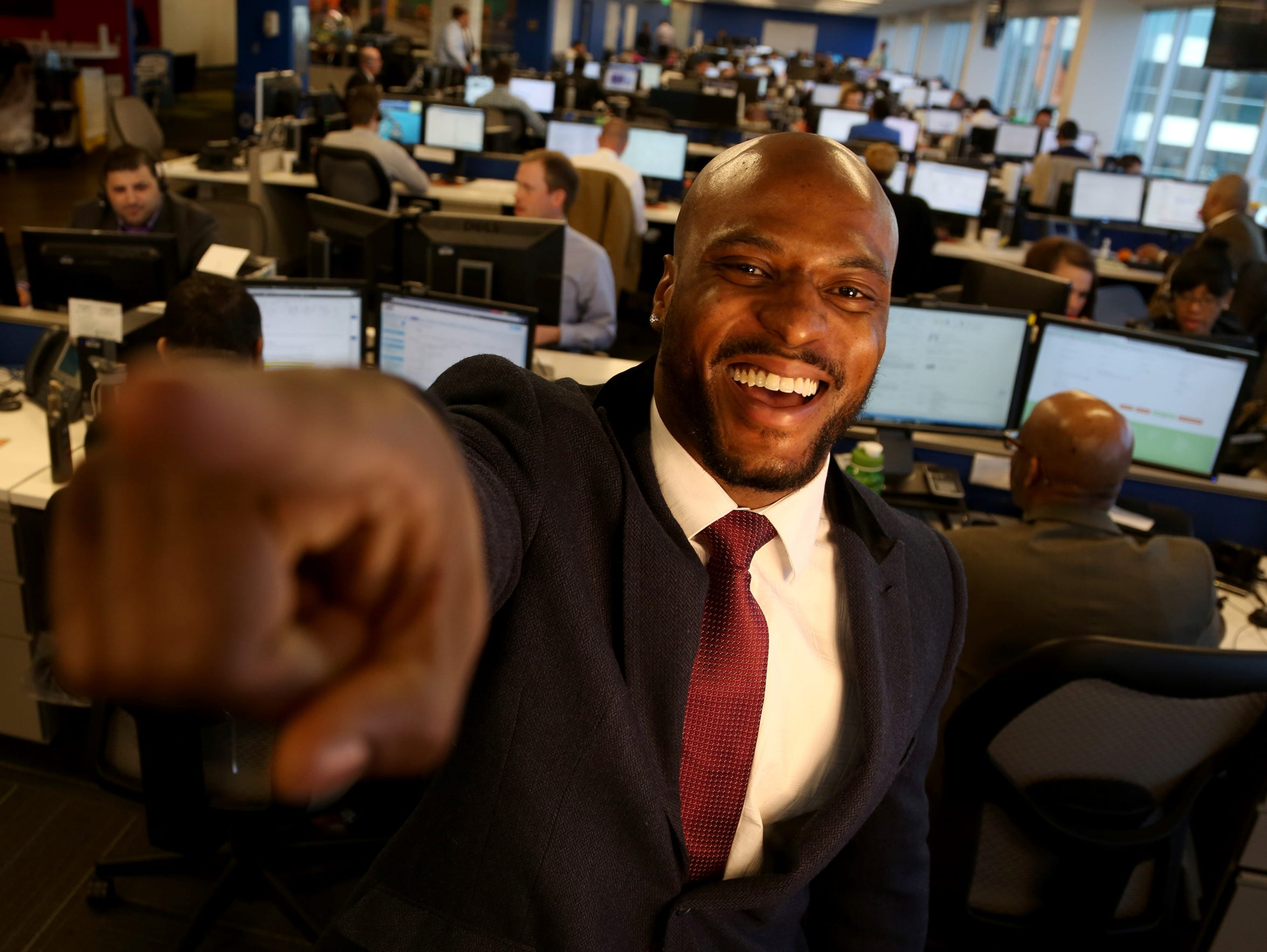 Edwin Baker Takes Job At Mortgage Firm To Prep For Post