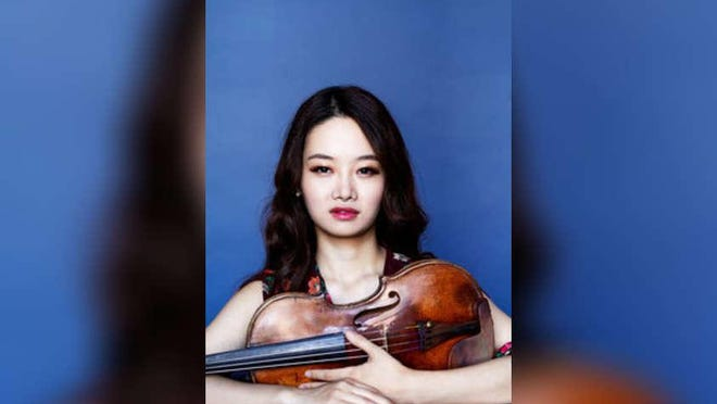 Violinist Bomsori Kim's precision playing shined during her performance at The Society of the Four Arts.