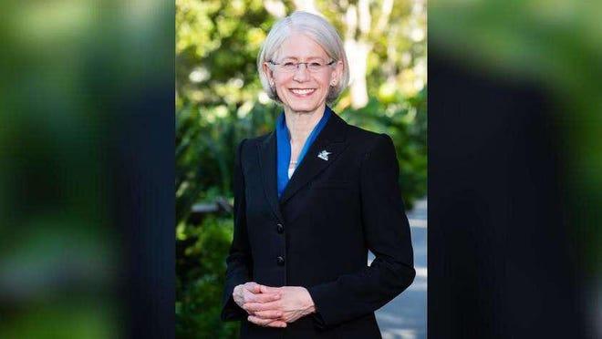 Dr. Debra A. Schwinn, incoming president at Palm Beach Atlantic University.
