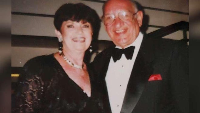 Arlene and Harold Rosen of suburban Boynton Beach were married for 69 years, their family said. Harold Rosen died Feb. 1, 2020, a week after a car crash, according to authorities.