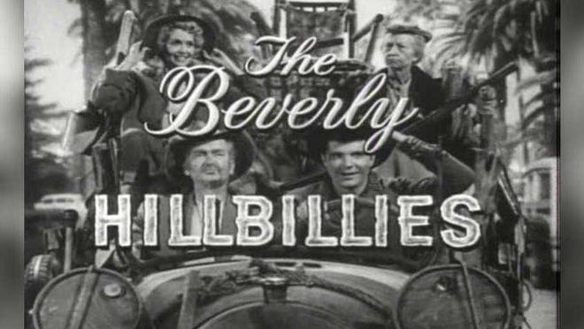 "Actor Buddy Ebsen, lower left, whose most famous role was as Jed Clampett in ""The Beverly Hillbillies,"" spent about eight years of his youth in Palm Beach County."
