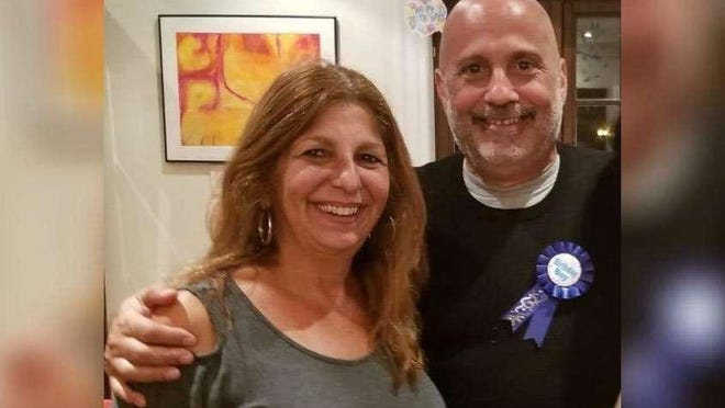 Palm Beach Maritime Academy administrator Reno Boffice, shown with his sister Louise, was diagnosed with COVID-19, the ailment caused by the coronavirus. Louise helped arrange a plasma donation to treat him.