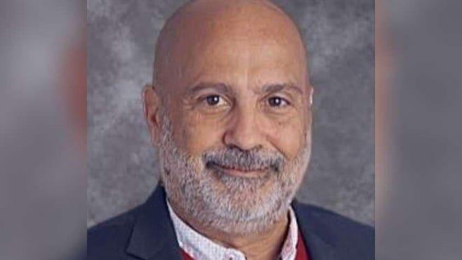 Reno Boffice, upper school principal at Palm Beach Maritime Academy.